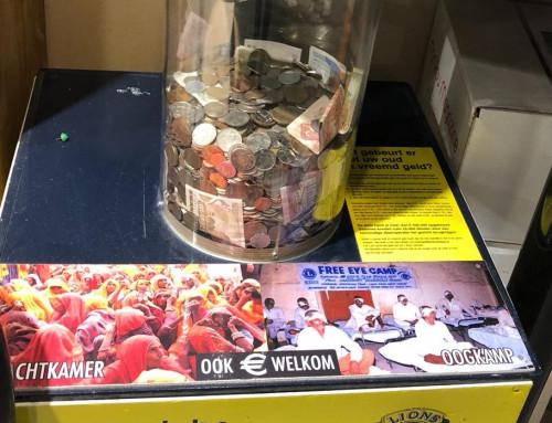 Lionsclub Gooiland zamelt weer vreemd en oud geld in!